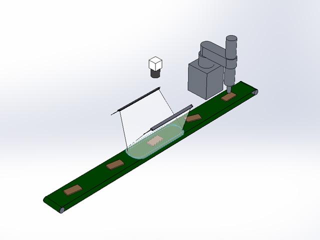 ロボットによるピッキング工程への採用例